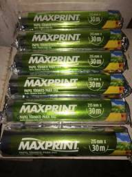 Papel Termico Bobina Fax 215mmx30m CX C/20 UNID