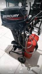 Motor mercury 15 super 18hp - 2015
