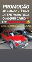 Fiat/STRADA ADVENTURE 3PORTAS CD 2015(R$1MIL DE ENTRADA)SHOWROOM