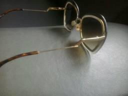 b0bb0f4ab46 Óculos fende original dourado