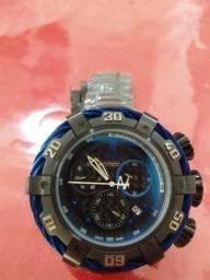 c39745a8e8e Relógio invicta reserve flame fusion Crystal azul e preto