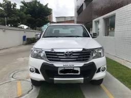 Hilux SRV Automática Flex 4X2 kit GNV 2015