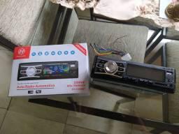 Som automotivo bluetooth USB e cartão