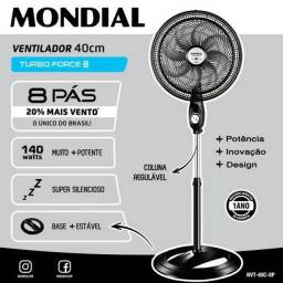Ventilador de coluna Mondial 8 hélices turbo force