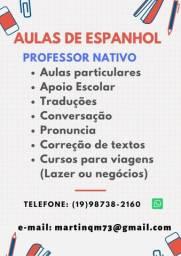 Aulas de Espanhol em Piracicaba - SP