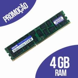 Memória RAM 1x4 4GB ddr3
