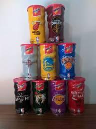 Vendo coleção de latas de Nescau NBA (vazias)