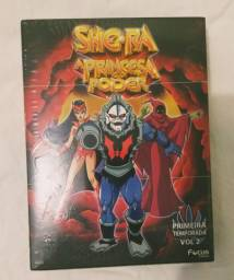 Box dvd She-ra 1a Temporada vol. 2