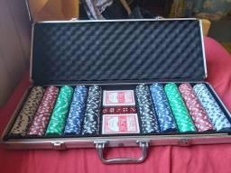 Vendo poker grande completo