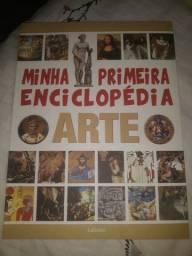 Livro Minha primeira enciclopédia ARTE