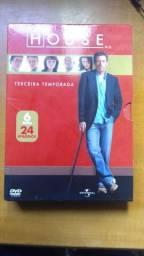 DVD House terceira temporada completa