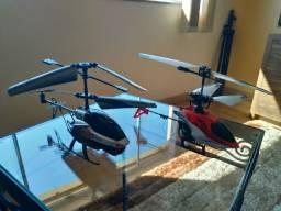 Helicópteros com câmera