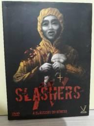 SLASHERS DVD DUPLO ORIGINAL