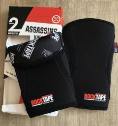 Joelheira 7mm M Preta - Assassins Rocktape® Knee Sleeves