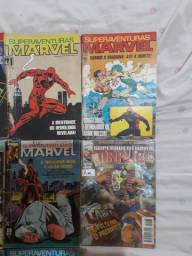 Lotes de hqs Superaventuras Marvel