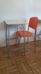 Conjunto carteira escolar cadeira e mesa