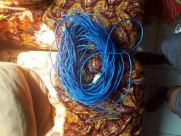Vendo 4O m de cabo de rede por 60 R§
