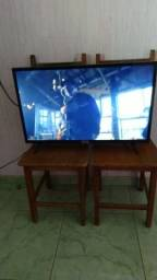Tv smart 32 led HD Android nota fiscal