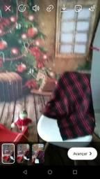 Ensaio infantil Tema Natal