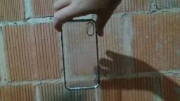 Capinha de celular iPhone xs transparente