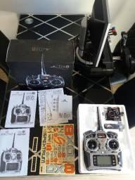 Spektrum DX8 com Receptor AR8000 com Satélite Dsm2 Dsmx Jr