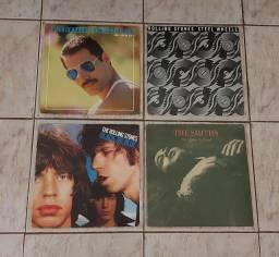 VINIL- 4 LP'S  /THE SMITS/FREDDIE MERCURY/THE ROLLING STONES