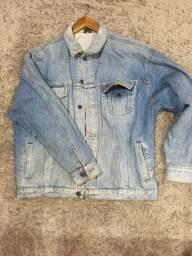 Jaqueta jeans over vintage tamanho G