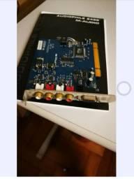 Placa De Som Pci Audiophile 2496 M-audio