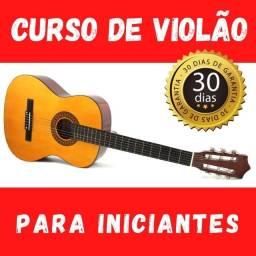 Curso de violão para iniciante - Custo único!