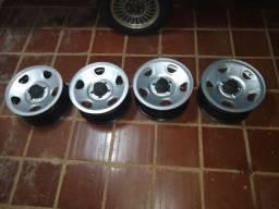 Rodas da S10 Blazer originais.