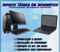 Serviços na área de informática com técnico experiente