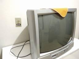 TV Tubo CCE + Aparelho Parabólica Century + Aparelho DVD Philco
