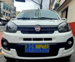 Fiat uno drive top motor 1.0 12v 3cil flex firefly 4p branca 2018 45.000km ipva2020pgvist