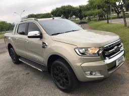 Ford Ranger 3.2 20V 200cv Limited 4X4 Cd Automática TOP DE LINHA 2019