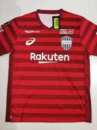 Camisa Vissel Kobe Home Asics 19/20 - Tamanho: G