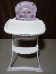 Cadeira de alimentação para menina Burigotto