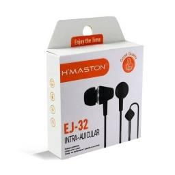 Título do anúncio: Fone de Ouvido Hmaston EJ-32 Intra Auricular