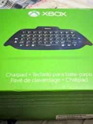 Chatpad Teclado Xbox One - Series X/S - Seminovo Original Microsoft