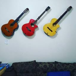 Suporte Horizontal Violão, Guitarra, Baixo, Cavaquinho, Etc