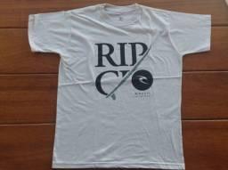 camiseta ripcurl branca