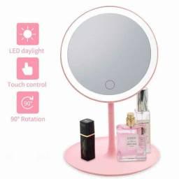 Espelho com Luz de Led P/ Maquiagem Ajustável ??