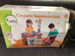 Conjunto supermercado para criança