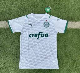 Camisa do Palmeiras branca temporada 21/22 tamanho M, G GG e EGG
