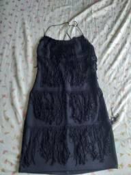 Vestido preto tamanho único