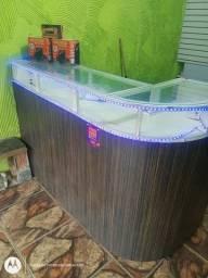 Balcão com LED