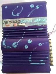 Módulo AB 2000  280W  2 CANAIS !