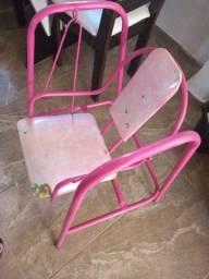 Cadeira de balanço de criança