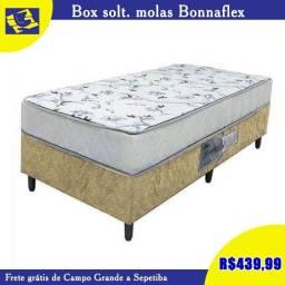 cama box solteiro de molas