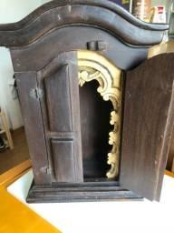 Oratório / Mini capela em madeira