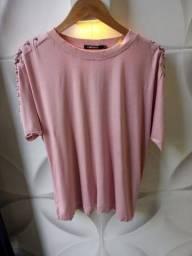 Blusa cheroy rosê